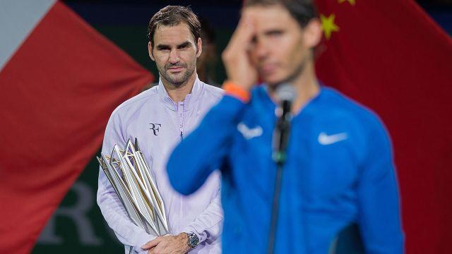 Federer has owned Nadal in 2017. Image: Getty