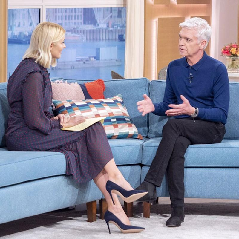 Phillip Schofield and Holly Willoughby   S Meddle/ITV/Shutterstock