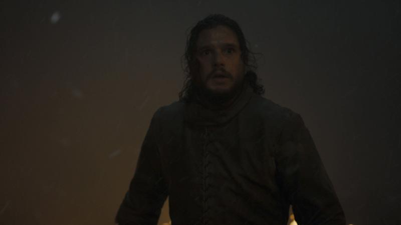 Kit Harington endures the Battle of Winterfell in the third episode of the final season of 'Game of Throne' (Photo: HBO)