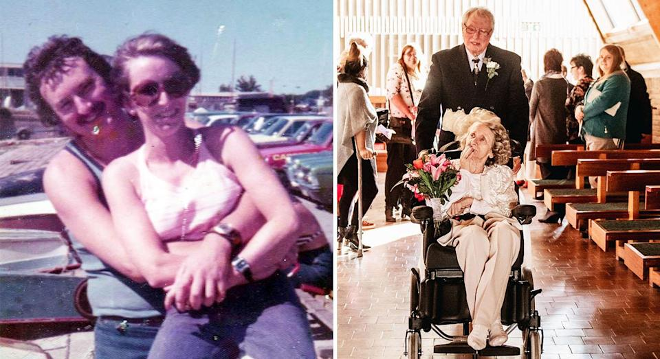 Pauline Young and Colin Jones have been together for 43 years. (Photo: Caters)