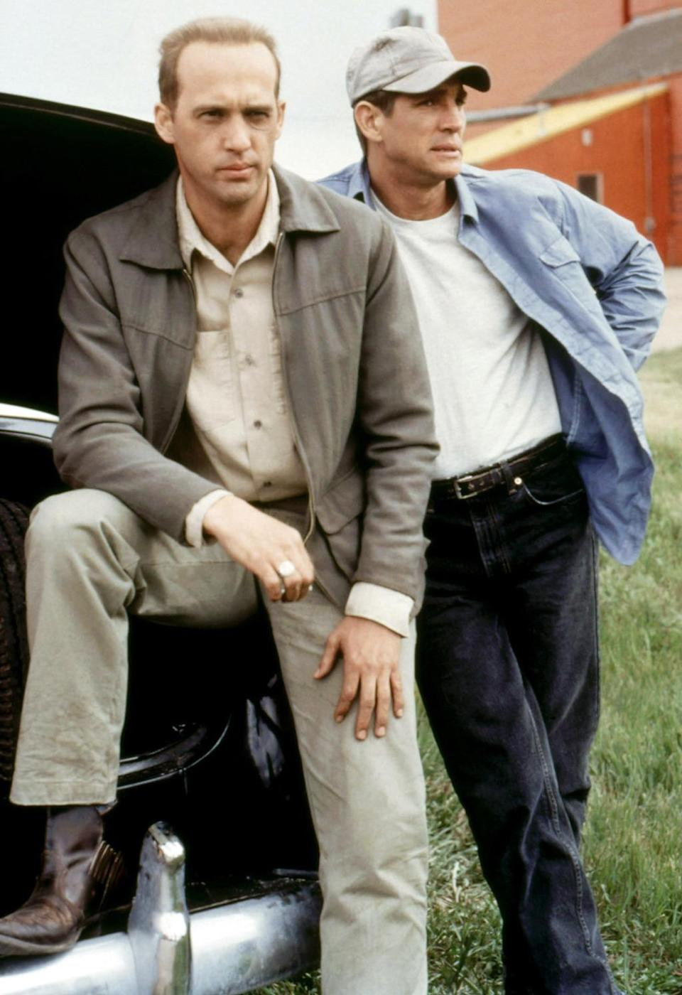 <p><b>Aired:</b> November 24, 1996 on CBS<br><b>Stars:</b> Eric Roberts, Anthony Edwards, and Ryan Reynolds<br><br><b>Ripped from the headlines about:</b> The 1959 murders of the Kansas Clutter family by Perry Smith (Roberts) and Dick Hickock Edwards), as detailed in Truman Capote's classic book. Reynolds plays Bobby Rupp, the boyfriend of murdered Clutter daughter Nancy, and the last person to see the family alive. The TV movie, which followed the Oscar-nominated 1967 big-screen film, was nominated for an Outstanding Miniseries Emmy.<br><br><i>(Credit: Everett Collection)</i> </p>