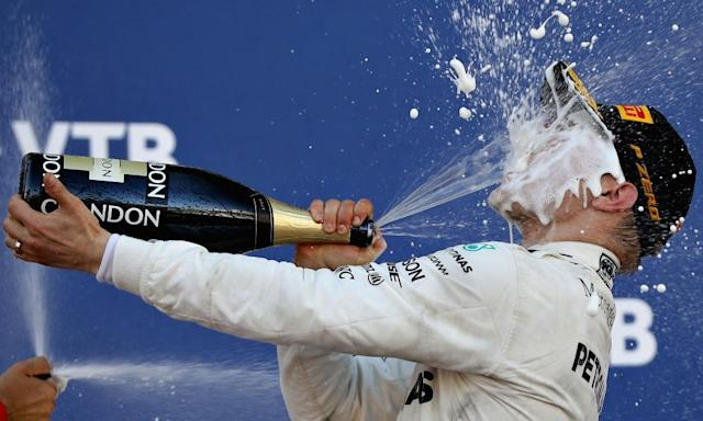 """<span class=""""element-image__caption"""">Valterri Bottas believes winning his first grand prix has given him the confidence to fight for the title.</span> <span class=""""element-image__credit"""">Photograph: Mark Thompson/Getty Images</span>"""