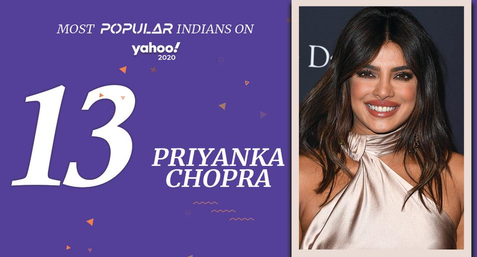 Priyanka Chopra Jonas (born 18 July, 1982) <br>Actor, Singer, Film Producer