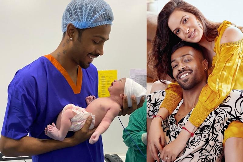 Blessing from God: Hardik Pandya Shares First Pic of His Newborn Son with Natasa Stankovic