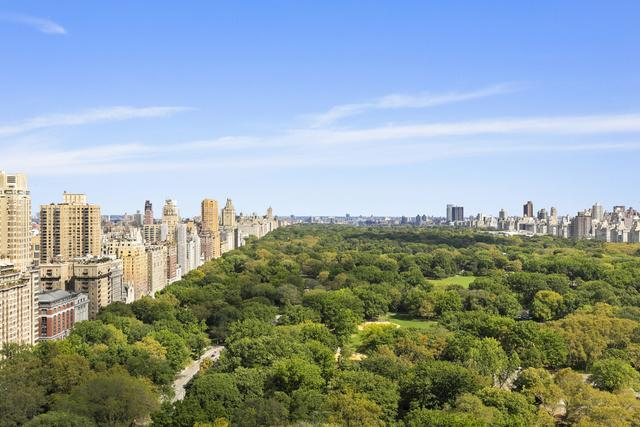View from 220 Central Park South. Photo credit: Compass.