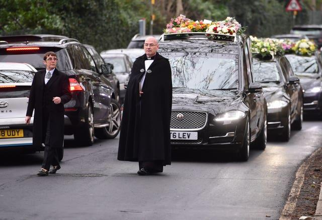 Barbara Windsor funeral