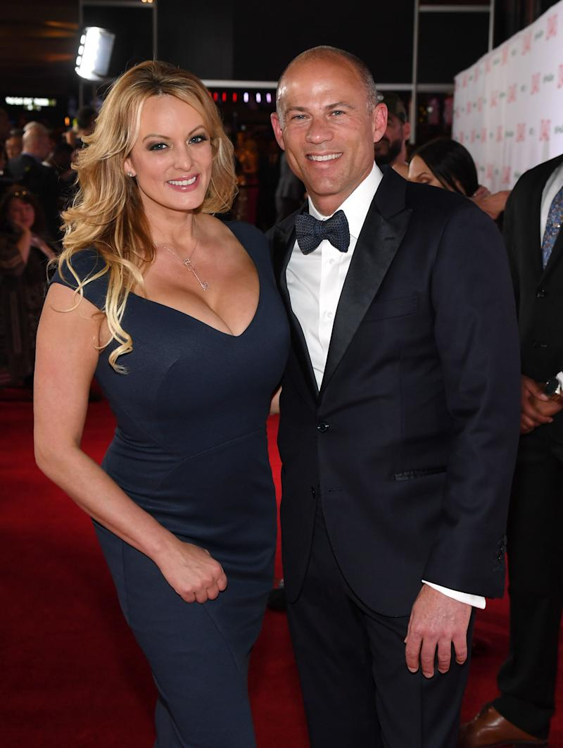 Adult film actress/director Stormy Daniels and attorney
