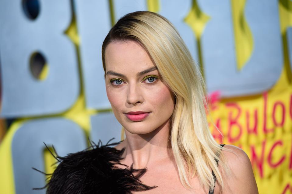 Margot Robbie attending the world premiere of Birds of Prey and the Fantabulous Emancipation of One Harley Quinn, held at the BFI IMAX, London. (Photo by Matt Crossick/PA Images via Getty Images)