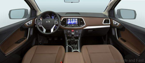 New Terra-E High Speed Electric Pickup Truck Interior