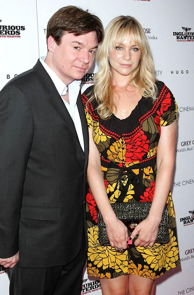 """Technically, """"Austin Powers"""" actor Mike Myers married longtime girlfriend Kelly Tisdale in October 2010 -- but the rest of us only found out about it in March! The couple reportedly exchanged vows in a private ceremony with friends and family in NYC. Talk about an """"International Man of Mystery""""!"""