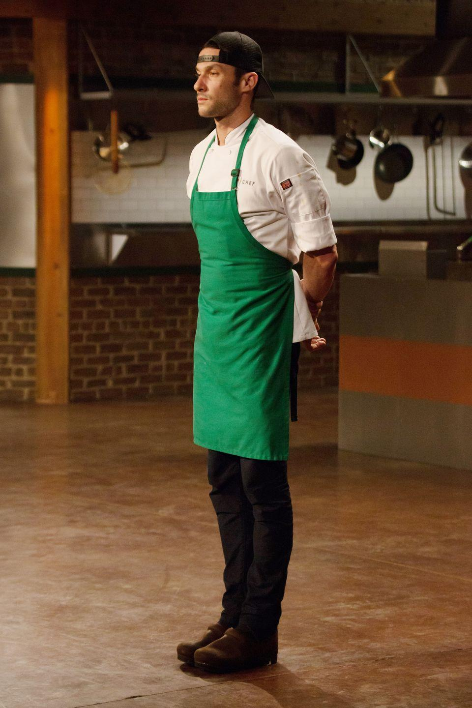 <p>Sam Talbot earned third place on <em>Top Chef</em>'s second season. During the season, the American chef's vulnerability in sharing his personal battle with Type 1 Diabetes helped him connect with fans and he was voted fan favorite by the public. </p>