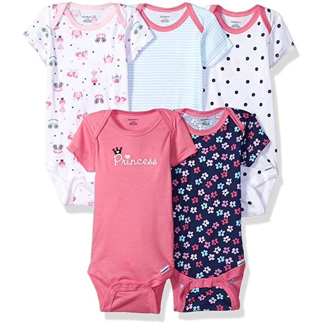 best-onesies-for-girls-gerber