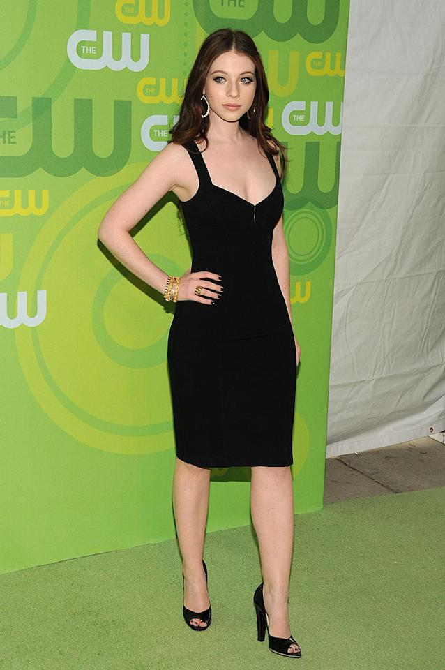 "TV's hottest vixen Michelle Trachtenberg pops a pose in her chic LBD. Bryan Bedder/<a href=""http://www.gettyimages.com/"" target=""new"">GettyImages.com</a> - May 13, 2008"