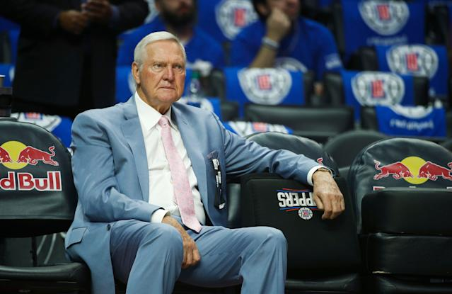 Jerry West is now a consultant for the Los Angeles Clippers. (AP Photo/Jae C. Hong)