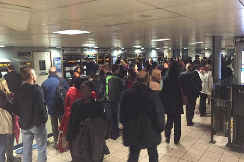 Evacuation: Euston Tube station (file photo): TSSA