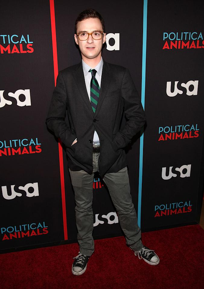 "Griffin Newman attends the ""Political Animals"" premiere at The Morgan Library & Museum on June 25, 2012 in New York City."