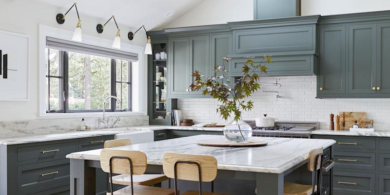 Emily henderson 39 s portland project kitchen is the most - The most beautiful kitchen designs ...