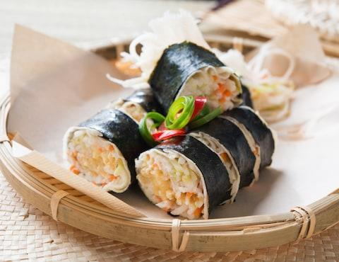 Popiah, a local type of spring roll in Singapore - Credit: istock