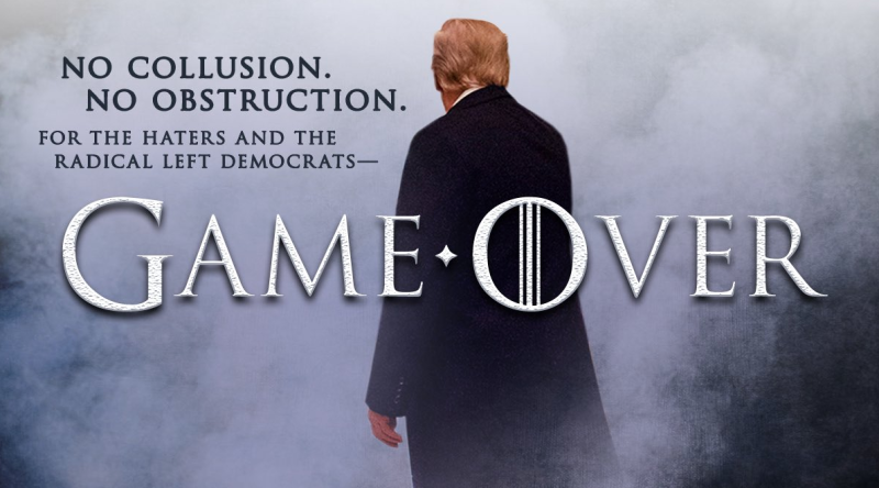 Trump Tweets Another 'Game of Thrones' Meme and HBO Isn't Happy