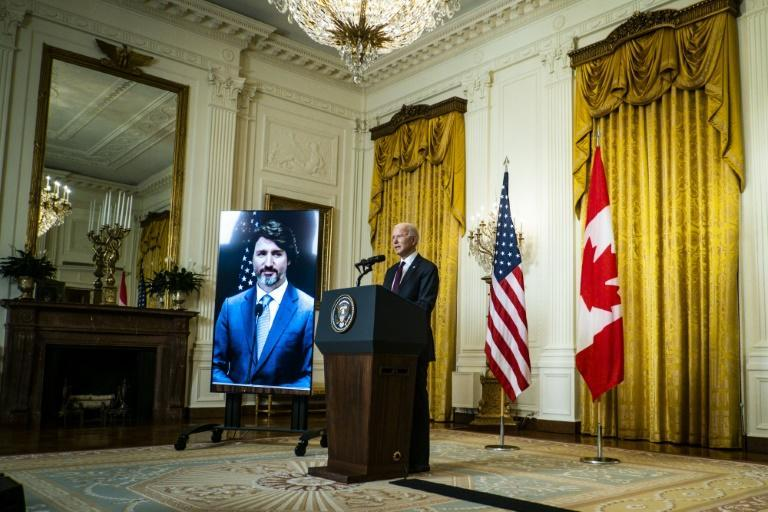 US President Joe Biden during a virtual meeting with Canadian Prime Minister Justin Trudeau last Tuesday called for the release of two Canadians detained by China in apparent retaliation for Meng Wanzhou's arrest