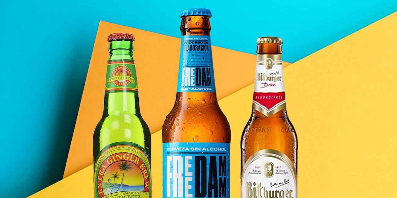 """<p>If you love the taste of beer, but have officially nixed booze—there are still plenty of options out there for you to BYOB. </p><p>Non-alcoholic beers offer great flavor—whether you're a wheat beer, pilsner, or IPA lover—but zero booze. To keep things on the healthier side, go for ones you enjoy drinking and that clock in at 100 or fewer calories per serving, recommends Suzanne Dixon, RD. And take note—even """"low-alcohol"""" beers can contain 0.5% alcohol by volume, so if you're truly trying to go cold-turkey on the booze, find a beer that is totally non-alcoholic. </p><p>Ready to explore the world of non-alcoholic beer? Here's what nutritionists recommend. </p>"""