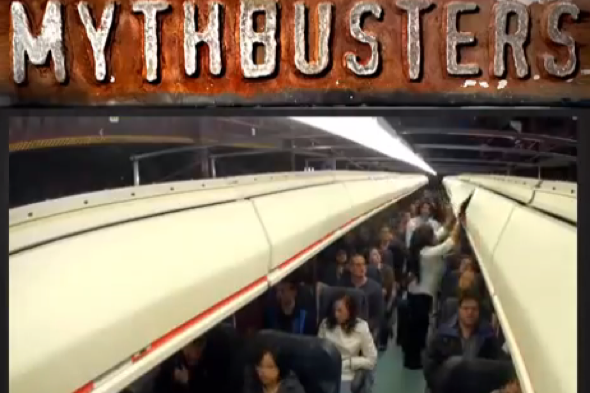 Mythbusters reveals the fastest way to board a plane