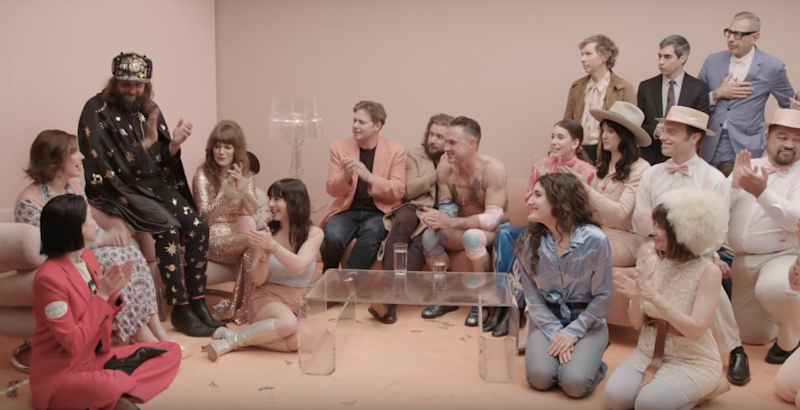 Jenny Lewis Hosts Star Studded Surrealist On The Line Listening Party Debuts New Music Watch