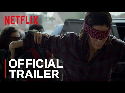 "<p>If you're scared of the dark, you might want to give this film a miss. Bird Box experiments with the idea of an invisible monster taking over the world and exterminating humanity. Well, it's invisible unless you look straight at it, that is, in which case, then you end up dead. </p><p>Malorie (Sandra Bullock) finds herself caring for her two children and having to undertake a two-day journey while blindfolded down a dangerous river. </p><p>Starring Trevante Rhodes, Sarah Paulson and John Malkovich, this is a must-watch thriller.</p><p><a class=""link rapid-noclick-resp"" href=""https://www.netflix.com/title/80196789"" rel=""nofollow noopener"" target=""_blank"" data-ylk=""slk:WATCH ON NETFLIX"">WATCH ON NETFLIX</a></p><p><a href=""https://www.youtube.com/watch?v=o2AsIXSh2xo"" rel=""nofollow noopener"" target=""_blank"" data-ylk=""slk:See the original post on Youtube"" class=""link rapid-noclick-resp"">See the original post on Youtube</a></p>"