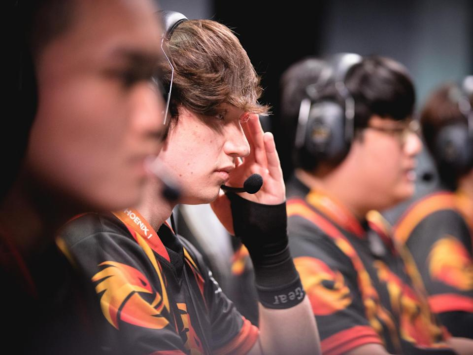 "Phoenix1 jungler William ""Meteos"" Hartman (Riot Games/lolesports)"