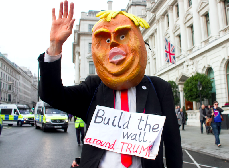 Will the Trump baby balloon fly over Parliament Square tomorrow?