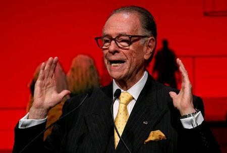 FILE PHOTO: Carlos Arthur Nuzman, president of the Rio 2016 Olympic Organizing Committee delivers a speech during an opening plenary session at the IOC Debriefing Olympic Games Rio 2016 in Tokyo, Japan, November 28, 2016. REUTERS/Toru Hanai/File Photo