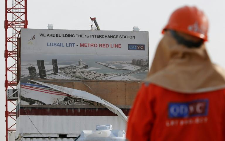 Qatar's metro, once completed, will run hundreds of kilometres across ultra-modern Doha, along the coast and into its expanding suburbs