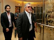 Vijay Mallya has been married twice before. His first wife was Sameera Tyabjee, was an Air India flight attendant. Together, they have a son named Sidhartha 'Sid' Mallya. They eventually got divorced but he claims that he shares a 'great equation' with his first wife.