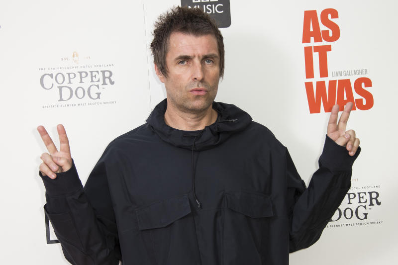 Liam Gallagher (Credit: Joel C Ryan/Invision/AP)