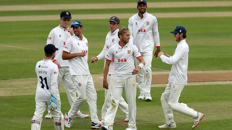 Essex players, pictured here celebrating a wicket during the final of the Bob Willis Trophy.