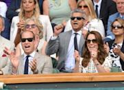 """<p>Once a year at Wimbledon, <a href=""""http://www.townandcountrymag.com/style/fashion-trends/news/g1633/kate-middleton-fashion/"""" rel=""""nofollow noopener"""" target=""""_blank"""" data-ylk=""""slk:the Duchess of Cambridge trades in her signature poise"""" class=""""link rapid-noclick-resp"""">the Duchess of Cambridge trades in her signature poise</a>, and puts on her game face. Kate's hilarious court-side expressions have become the stuff of Internet legend, but unfortunately, this year the tournament has been canceled due to the ongoing coronavirus pandemic. Today would have been the first day of the competition, but <a href=""""https://twitter.com/Wimbledon/status/1277534834798350336"""" rel=""""nofollow noopener"""" target=""""_blank"""" data-ylk=""""slk:as Kate said in a new video"""" class=""""link rapid-noclick-resp"""">as Kate said in a new video</a>, """"We will bide our time until we sit on the edge of our seats again, and celebrate again, so when the time is right and we open the gates, we will be back again and it will have been worth the wait.""""</p><p>In the meantime, r<span>ead on for a look back at the Wimbledon Royal Box throughout history.</span></p>"""