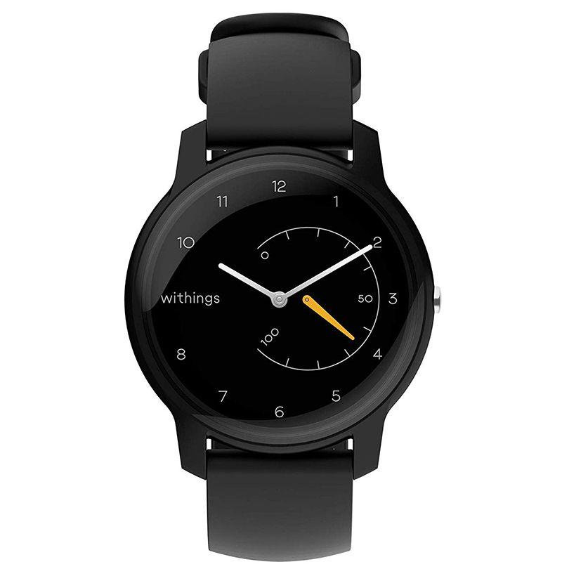"""<p><strong>Withings</strong></p><p>withings.com</p><p><strong>$69.95</strong></p><p><a href=""""https://go.redirectingat.com?id=74968X1596630&url=https%3A%2F%2Fwww.withings.com%2Fus%2Fen%2Fwithings-move&sref=http%3A%2F%2Fwww.esquire.com%2Flifestyle%2Fg25891194%2Fcool-new-tech-gadgets-2019%2F"""" target=""""_blank"""">Buy</a></p><p>Withings Move, the new smartwatch from Withings for 2019, monitors your activity and your sleep. It has a GPS tracker and syncs with the Health Mate app. It only costs $69.95. Most impressively, it works for <em>18 months</em> without requiring a battery charge. That, and its understated design with an analog clock face, makes it more timeless than a lot of trackers on the market. The customization options are plentiful too, so you can easily get it to fit your look.</p>"""