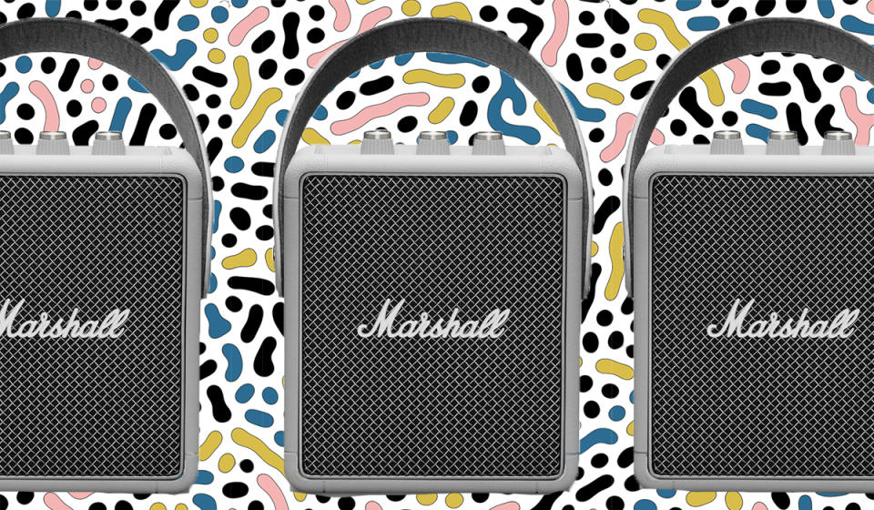 Save some cash on this gorgeous Marshall speaker. (Photo: Nordstrom Rack)