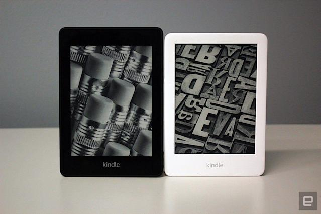 Kindle Paperwhite and Kindle (2019)