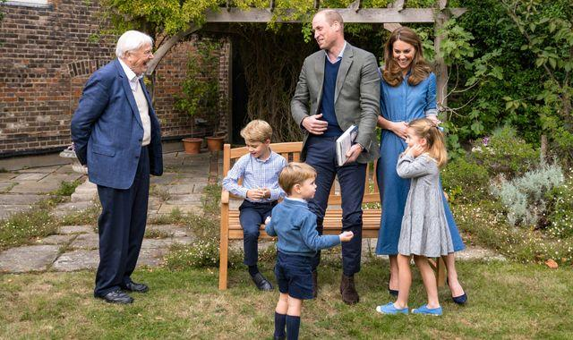 Prince George thrilled with dinosaur-era gift from Sir David Attenborough