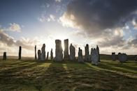 """<p>A standing stone formation in Callanish on the <span class=""""redactor-invisible-space"""">Isle of Lewis.</span></p>"""