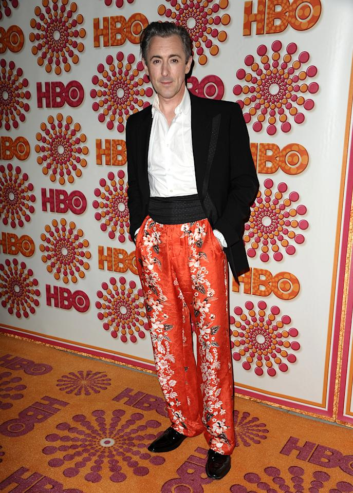 Actor Alan Cumming attends HBO's post Emmy party at Pacific Design Center on September 18, 2011 in West Hollywood, California.