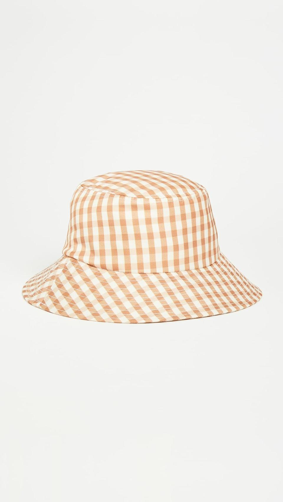 <p>Finish your look with this joyful <span>Loeffler Randall Bucket Hat</span> ($60).</p>