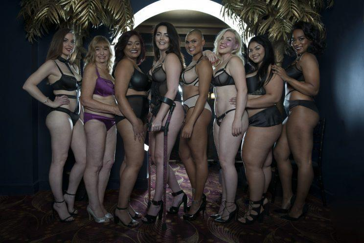 We heart this new body-positive lingerie campaign [Photo: Curvy Kate]