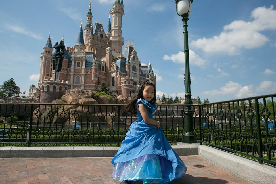 Many children love dressing up as Disney princesses. (Getty Images)