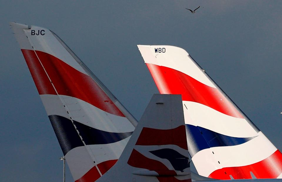 <p>The incident happened near to a BA check-in desk</p> (AFP via Getty Images)