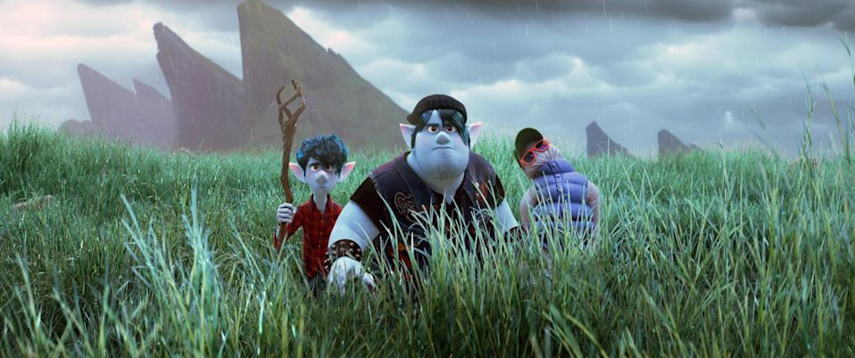 <em>Onward,</em> the most recent Pixar film, had a limited run in theaters because of the Coronavirus pandemic, but it's worth finding time to watch this story about a world inhabited by mythical creatures and the two elf brothers, Ian and Barley Lightfoot, who set out on a journey to spend one more day with their late father.