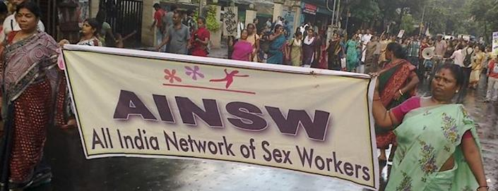 An image from a previous AINSW protest. Image courtesy: Twitter/AINSW