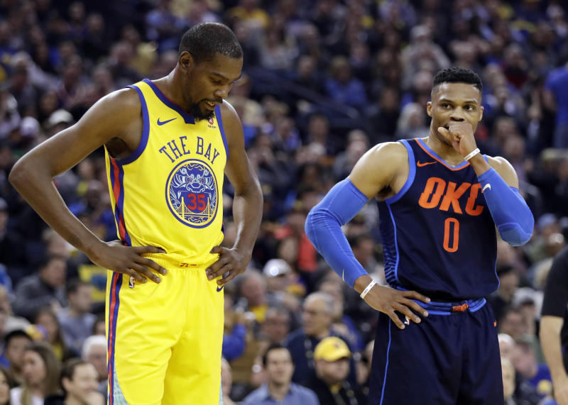 1ae2a2b564a Kevin Durant  likes  Instagram comment disparaging Russell Westbrook