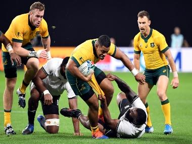 Rugby World Cup 2019: Australia survive Fiji scare to clinch victory; New Zealand gear up to face arch-rivals South Africa on Day 2